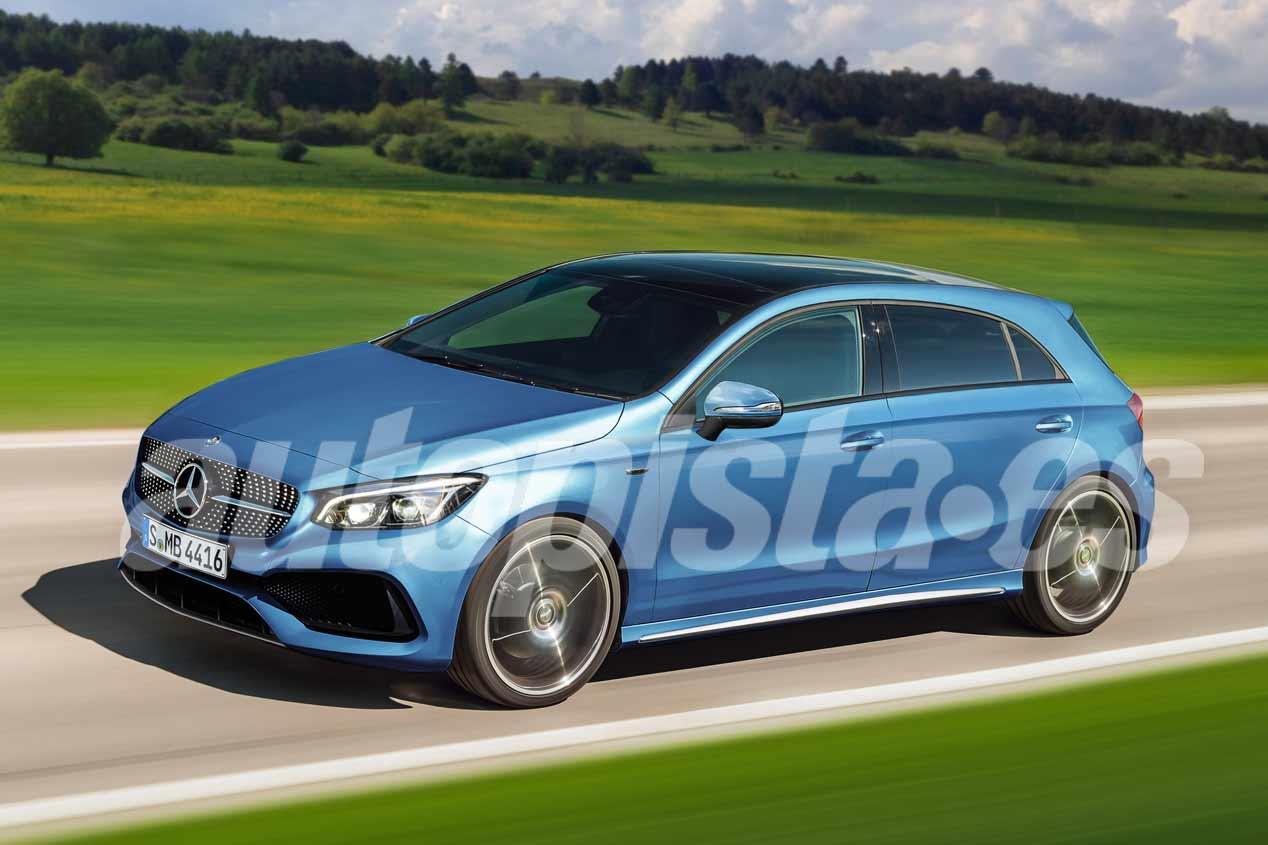 Mercedes se plantea desarrollar un Clase A de 7 plazas