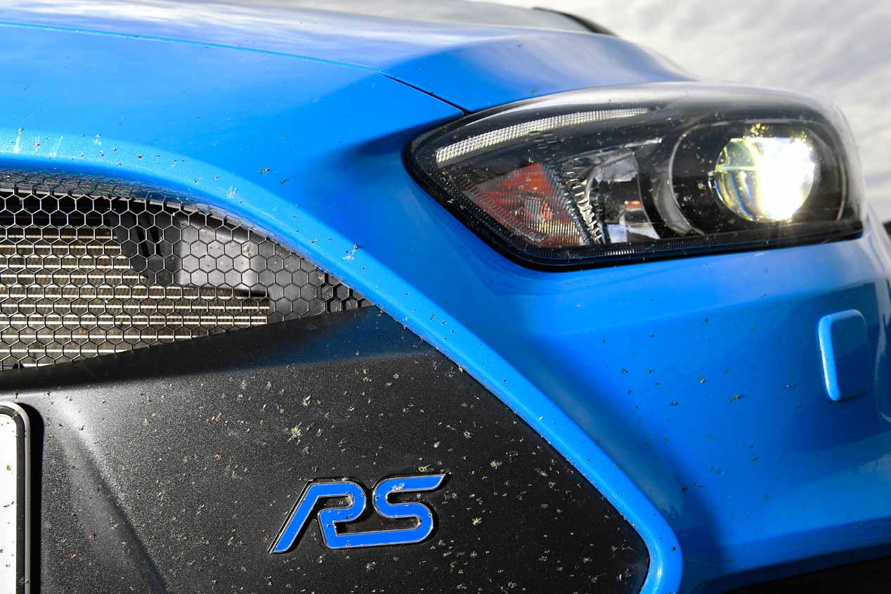 Comparativa Audi RS 3, BMW M2, Ford Focus RS y Mercedes-AMG A 45