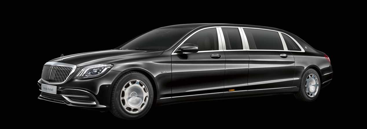Mercedes-Maybach Pullman, lujo de 6 metros y medio