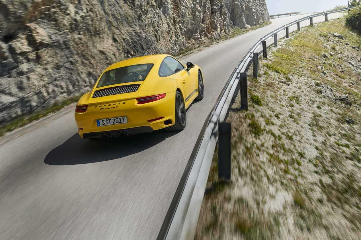 Porsche 911 Carrera T: primeras impresiones