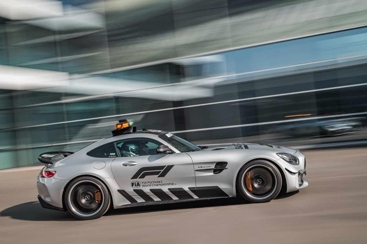 La F1 2018 estrena Safety Car: el Mercedes-AMG GT R