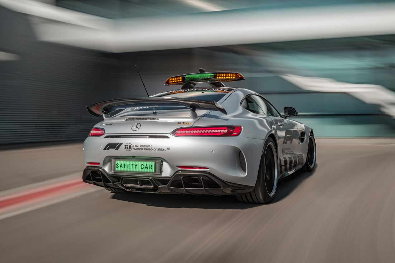 La F1 2018 estrena Safety Car: el Mercedes-AMG GT R