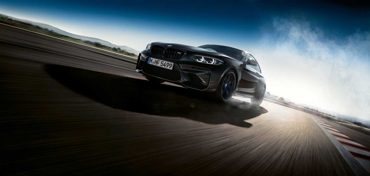 BMW M2 Edition Black Shadow, todo al negro