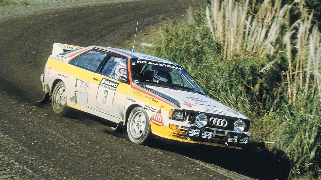 Cuatro míticos coches de Grupo B: Audi quattro Sport, Lancia Delta S4, Ford RS200 y MG Metro 6R4