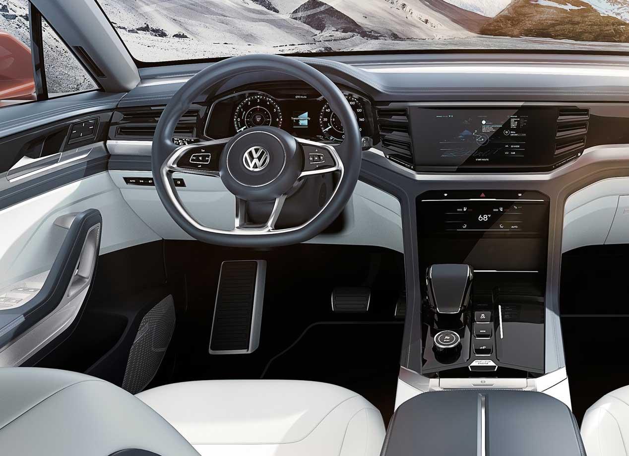 VW Atlas Cross Sport: nuevo SUV en el Salón de Nueva York