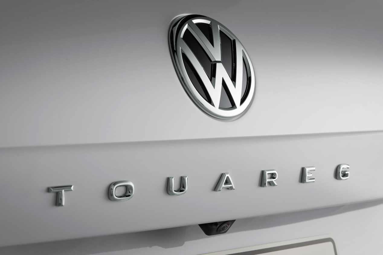 Así es el VW Touareg 2018: imágenes oficiales