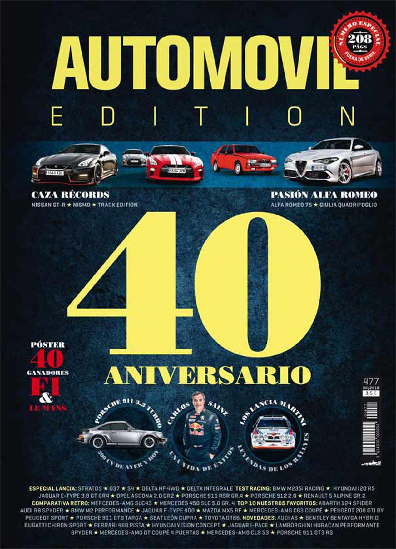 Revista AUTOMÓVIL 40 Aniversario: las mejores imágenes