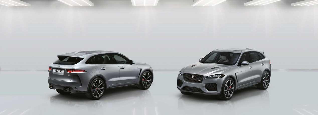 El SUV más deportivo de Jaguar se llama Jaguar F-Pace SVR