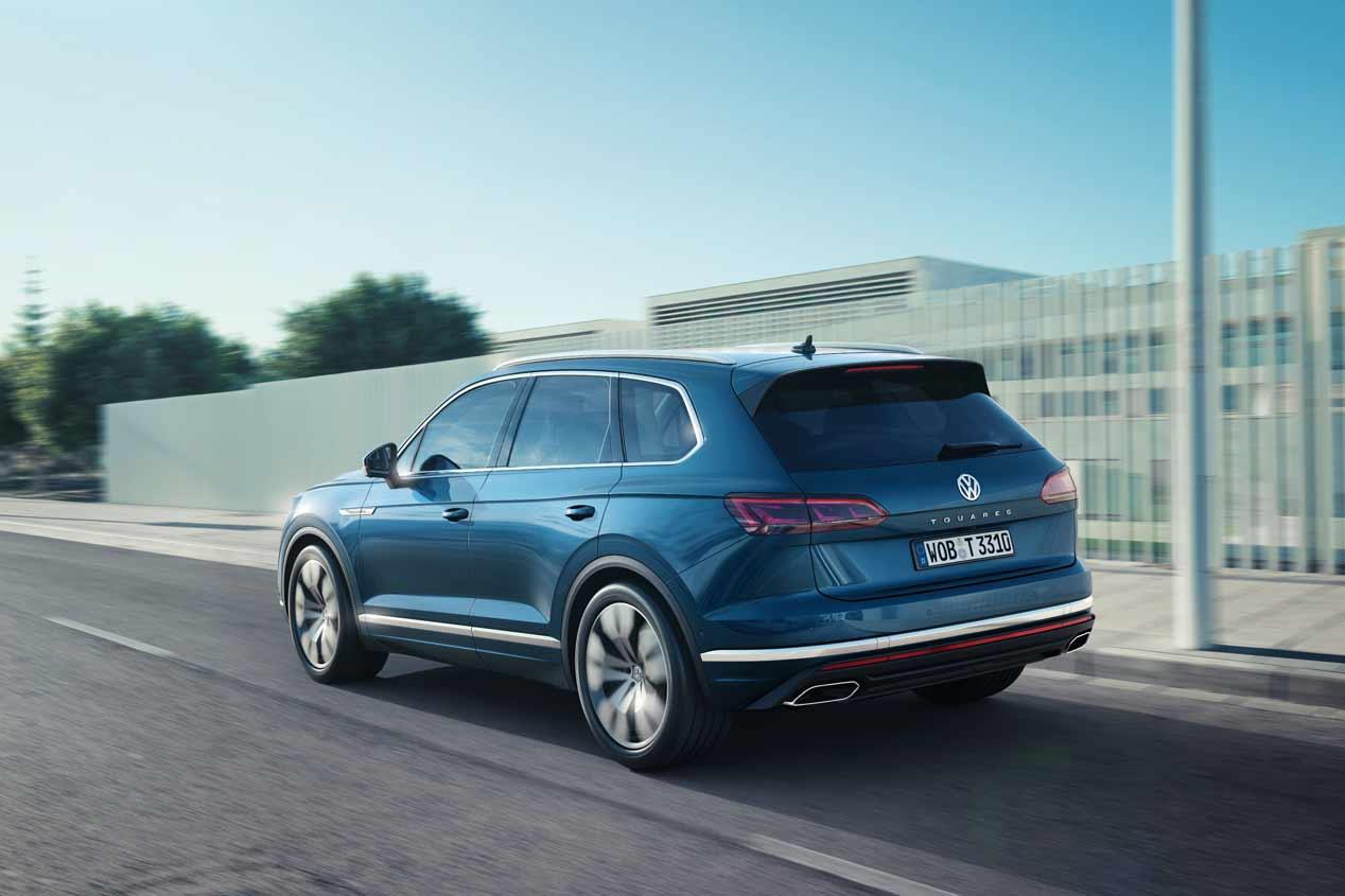 VW Touareg 2018: las mejores imágenes del nuevo SUV