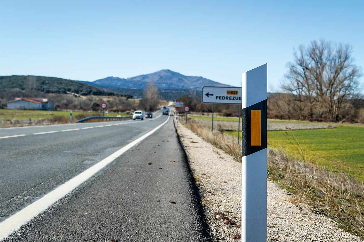 """Los puntos """"más calientes"""" de las carreteras secundarias"""