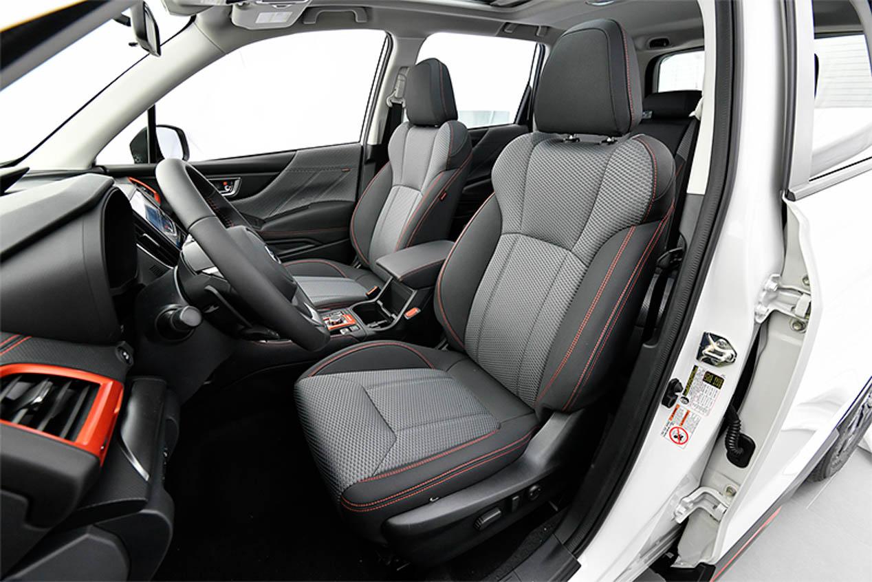 Nueva generación del Subaru Forester