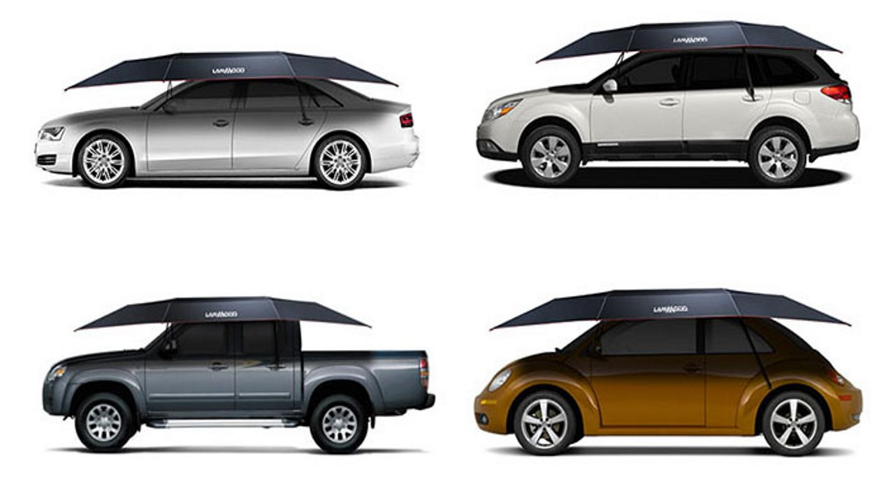 """Lanmodo, el primer """"tejado"""" automático portátil para coches"""