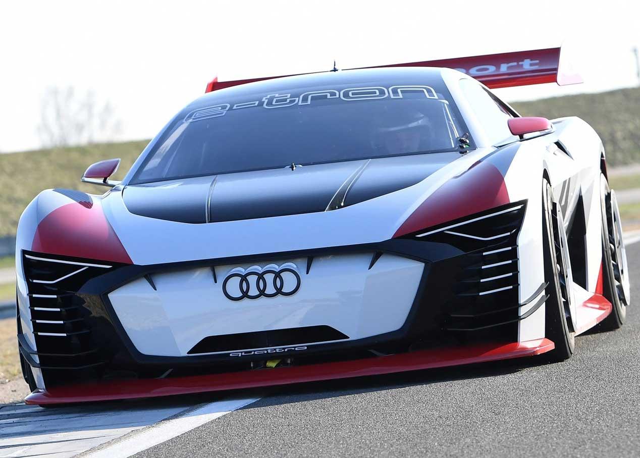 De consola a la calle, Audi e-tron Vision Gran Turismo