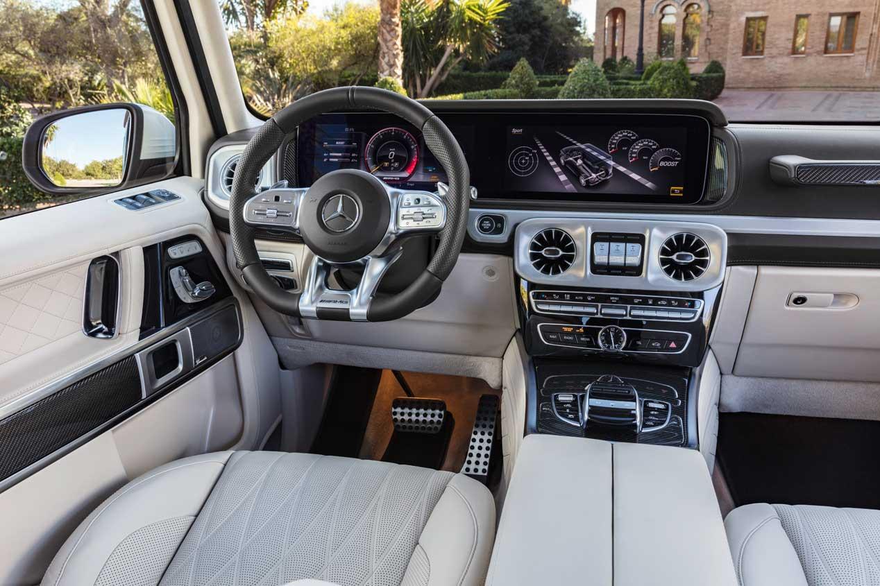Mercedes AMG G63, el más prestacional de la Clase G