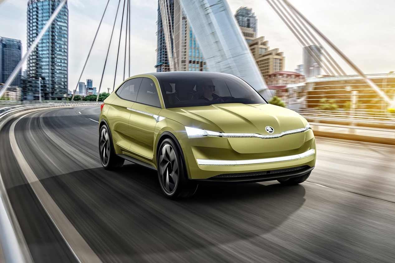 Así podría ser el SUV eléctrico coupé de Skoda