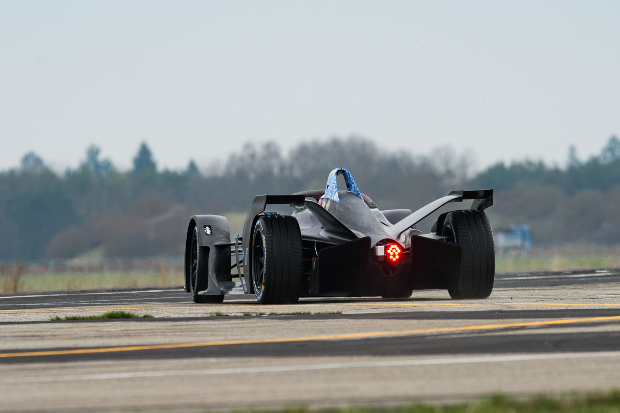 BMW iFE.18, un monoplaza cien por cien eléctrico