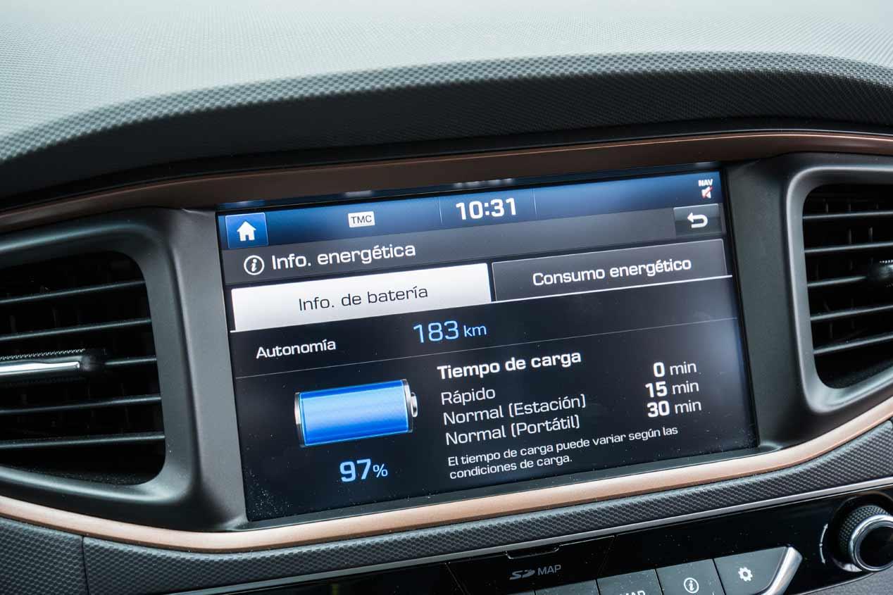 Probamos el Hyundai Ioniq EV eléctrico