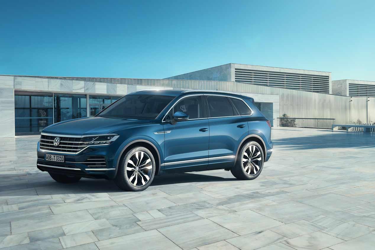 VW Touareg 2018: ya a la venta en España