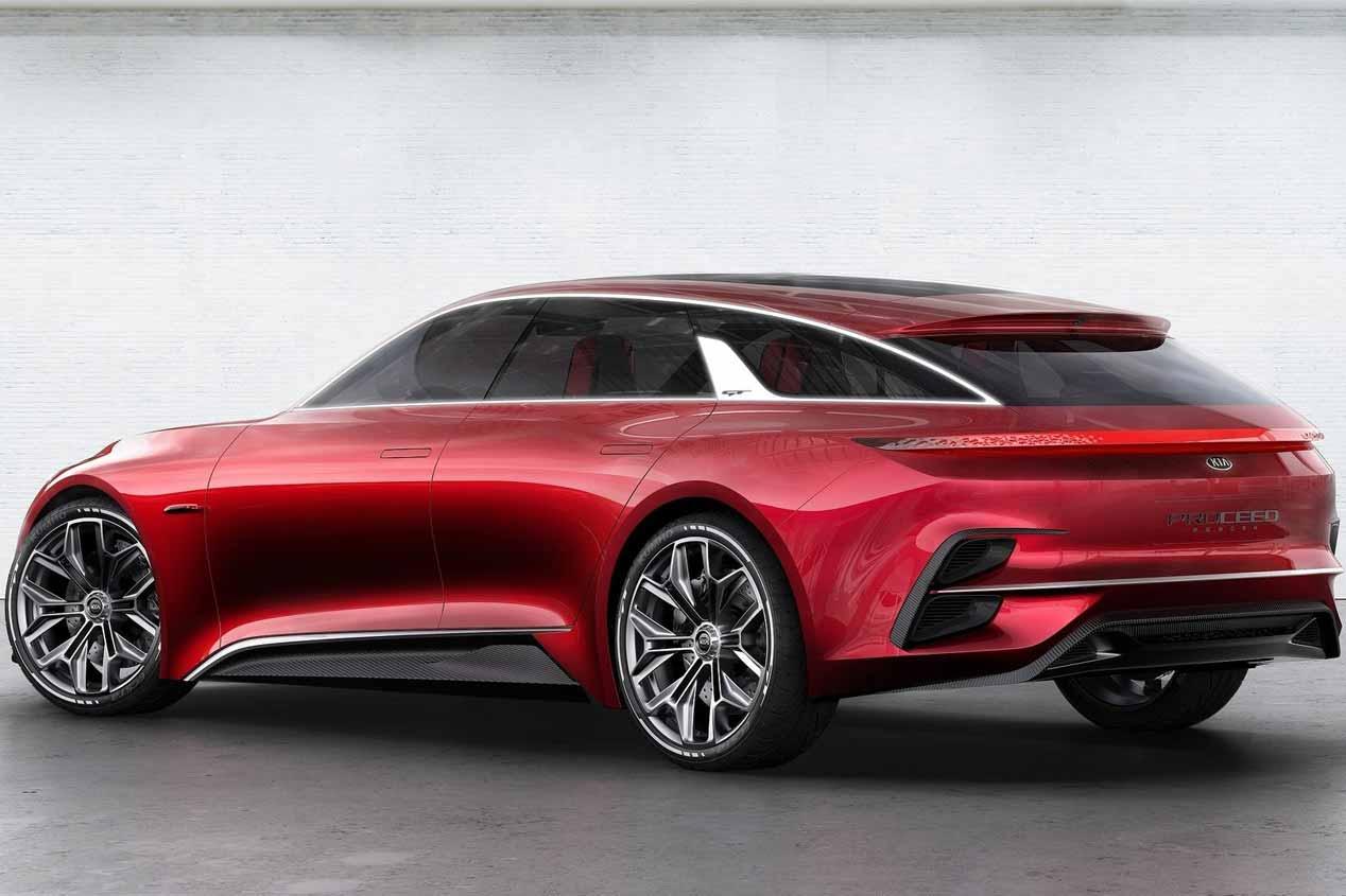 El nuevo Kia Proceed Shooting Brake, a producción