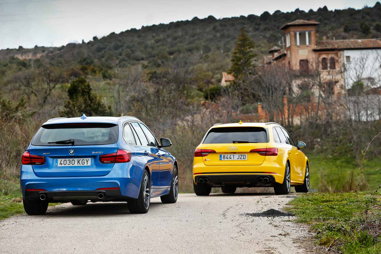 Audi S4 Avant vs BMW 340i Touring