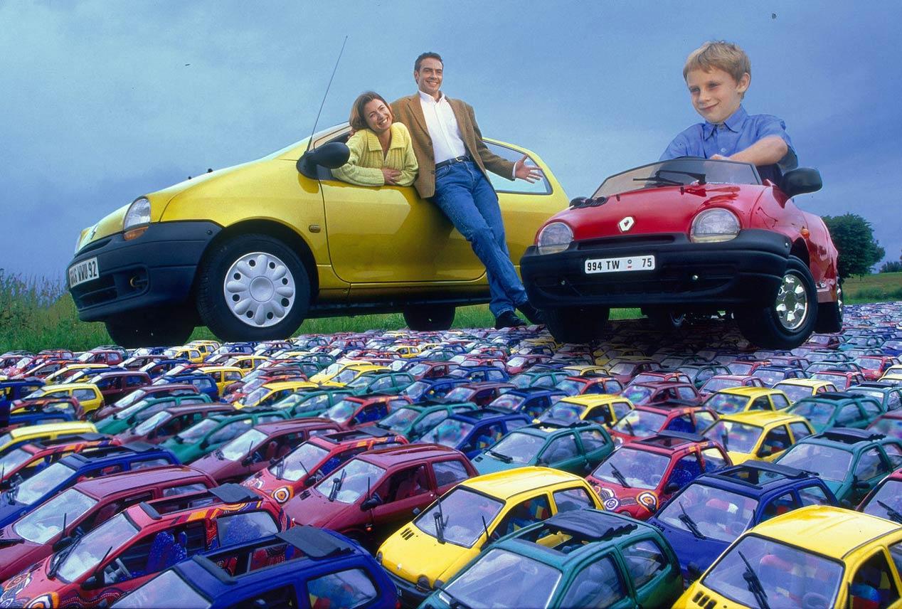 Renault Twingo: 25 años y tres generaciones de historia