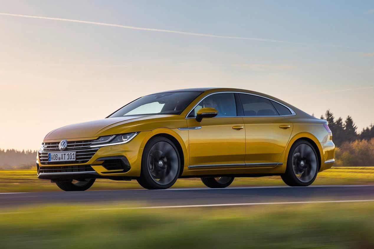 Nuevos Volkswagen T-Roc R, Arteon R y Tiguan R: los deportivos que vienen