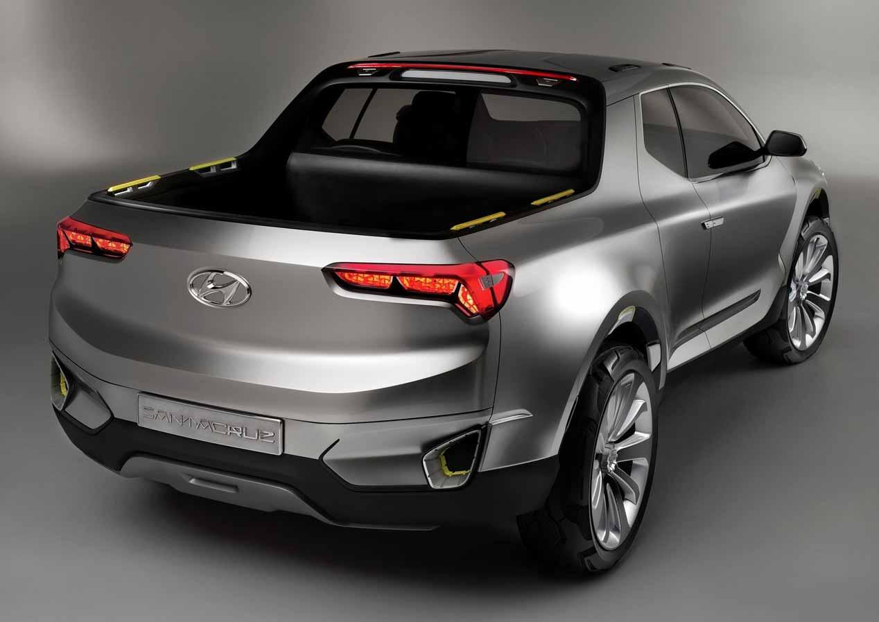 Así podría ser el nuevo Hyundai Santa Cruz 2020
