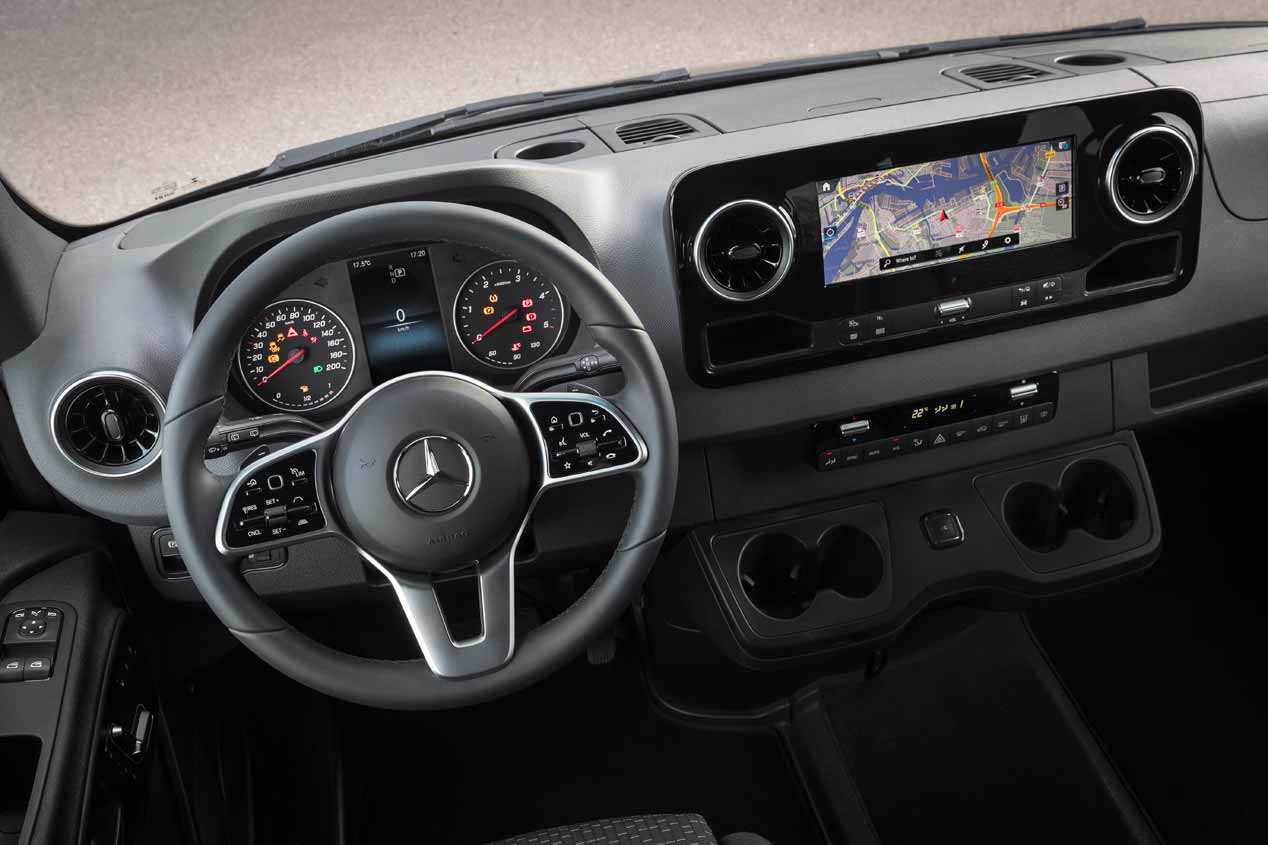 A prueba la Mercedes Sprinter 2018