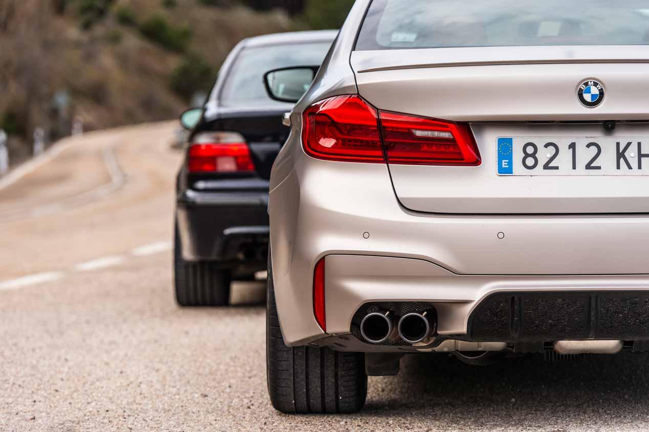 A prueba el BMW M5 2018: 600 CV de pura deportividad