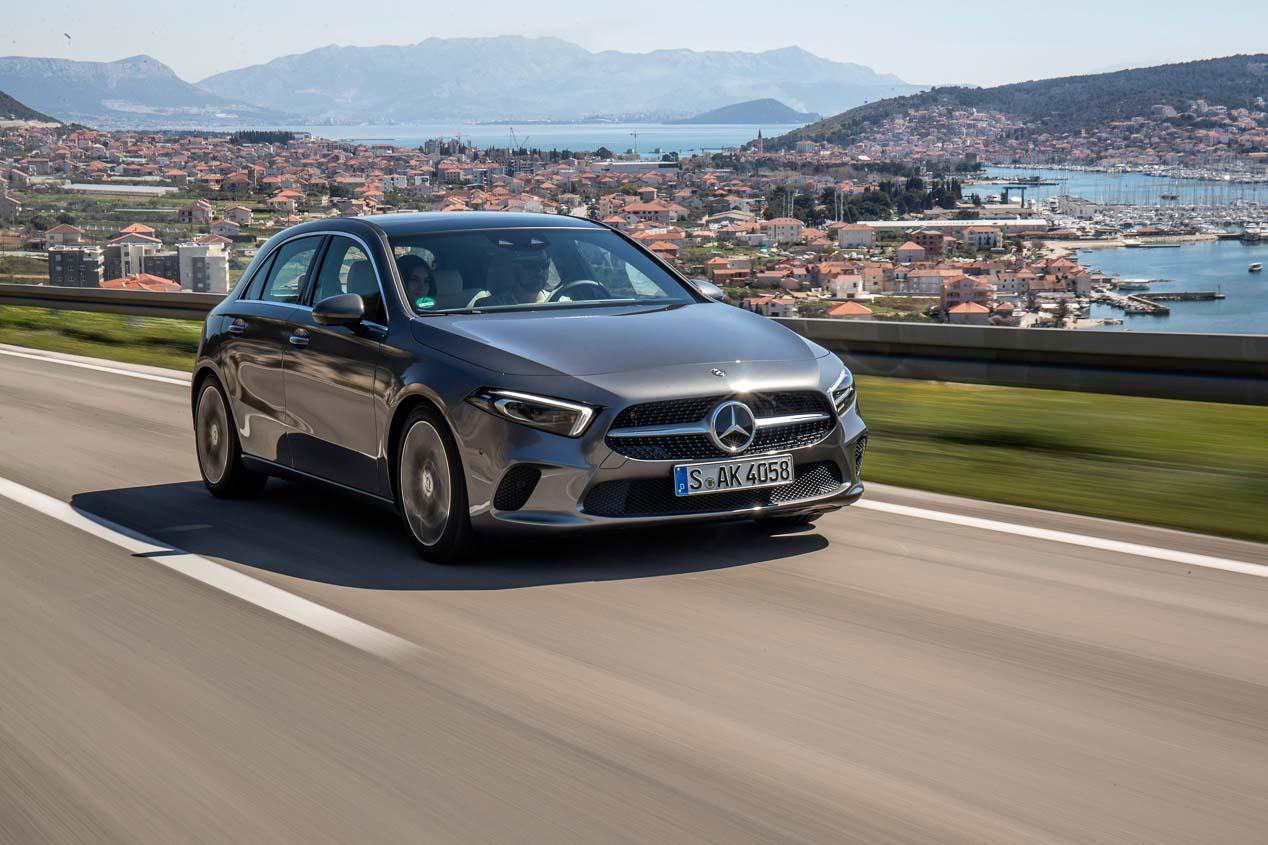 Probamos el Mercedes Clase A 180d