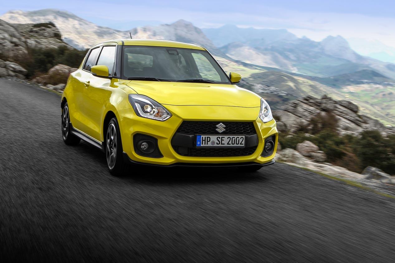 Suzuki Swift Sport, nueva generación más rápida y eficaz