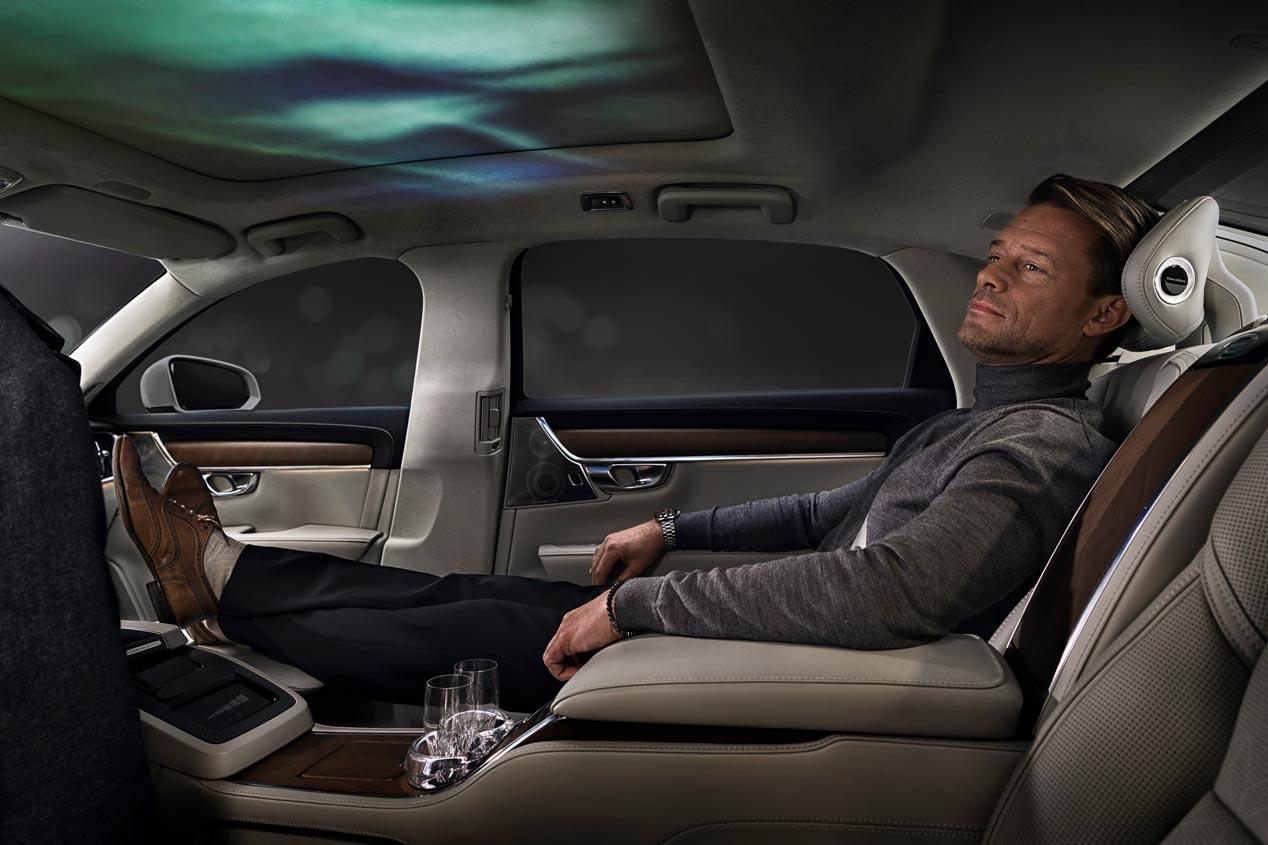 Volvo S90 Excellence Ambience Concept, un sistema que influye en tu ánimo