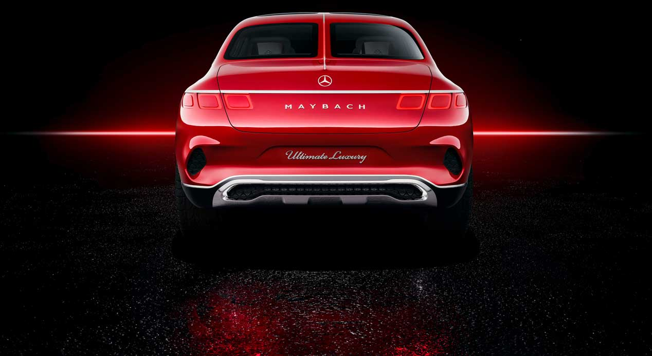 ¿SUV-berlina? Mercedes-Maybach lo presenta en forma de prototipo