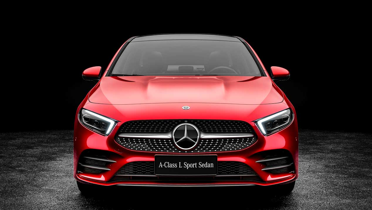 Mercedes Clase A L, ahora con carrocería berlina