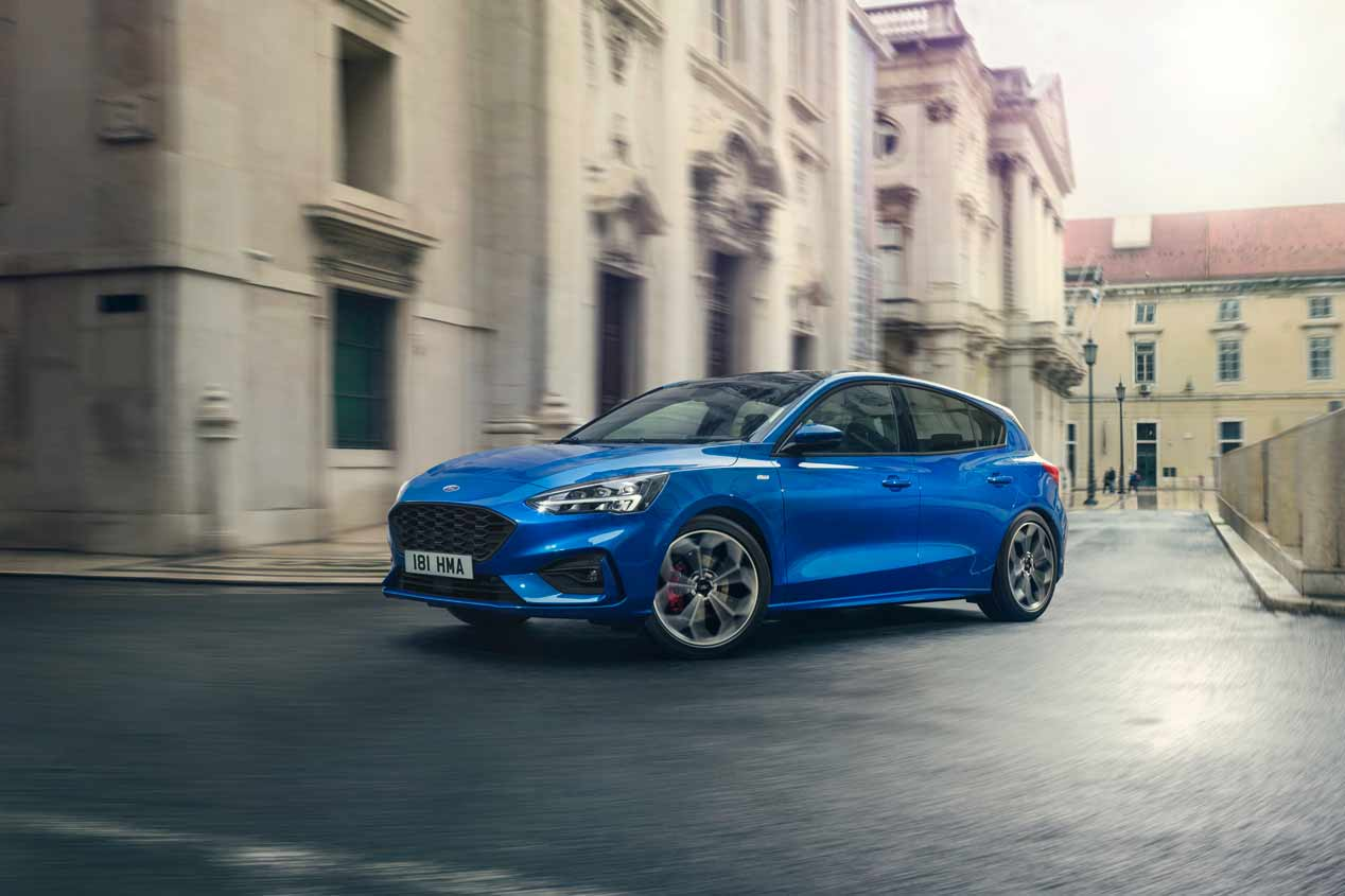 Ford Focus 2018 vs VW Golf 2019: los nuevos compactos que vienen