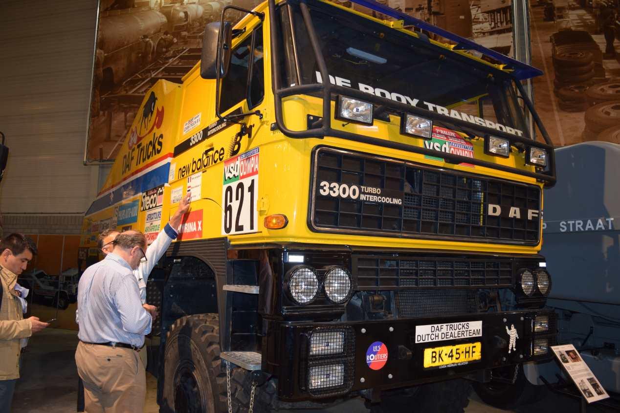 DAF cumple 90 años fabricando camiones