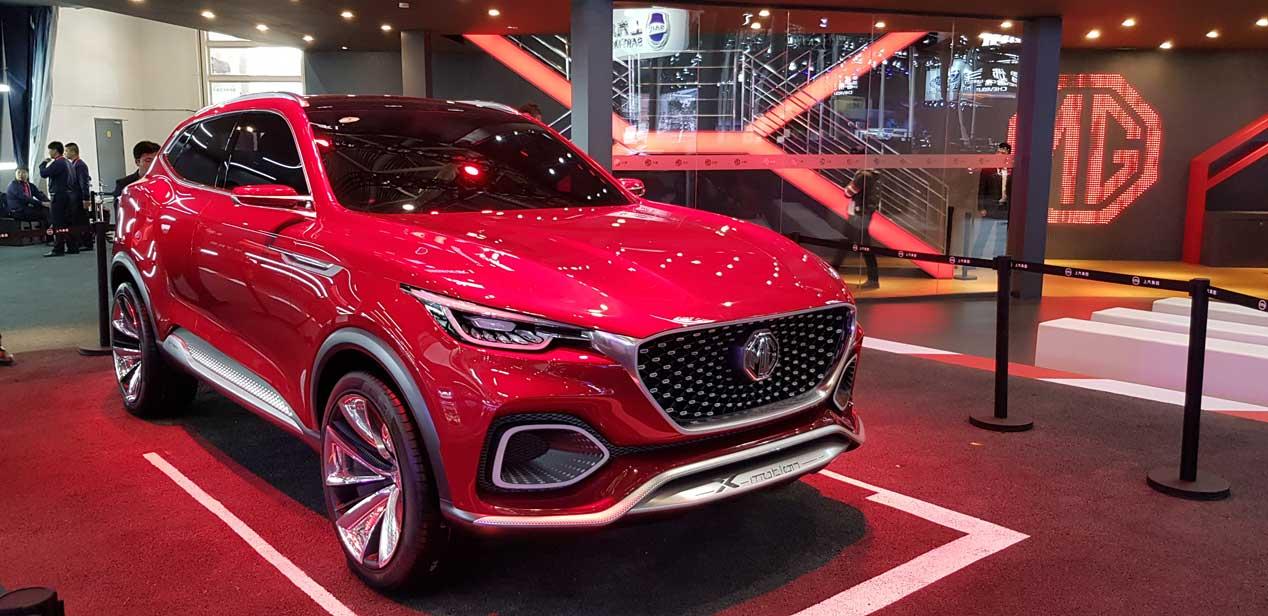 MG, nuevo SUV para Pekín