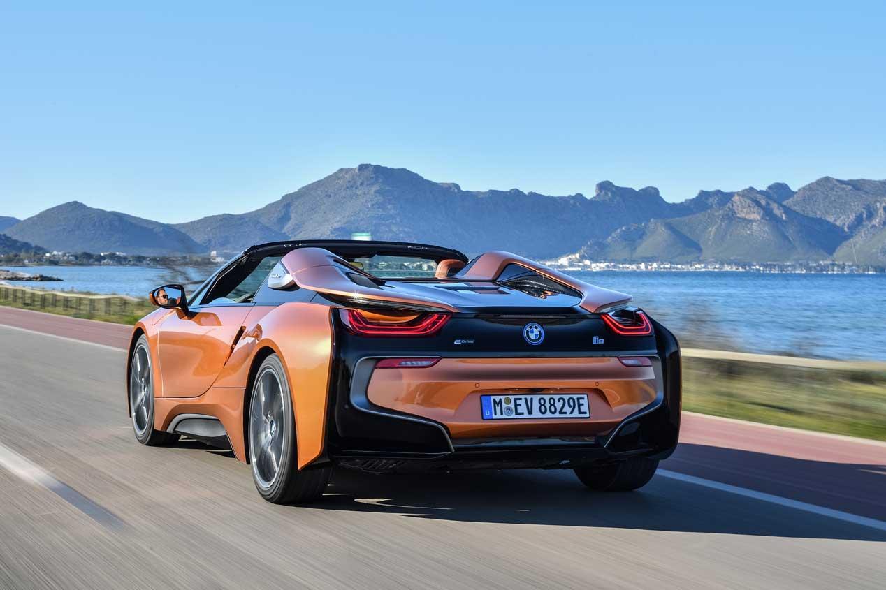 Deportividad eficiente, probamos el nuevo BMW i8 Roadster
