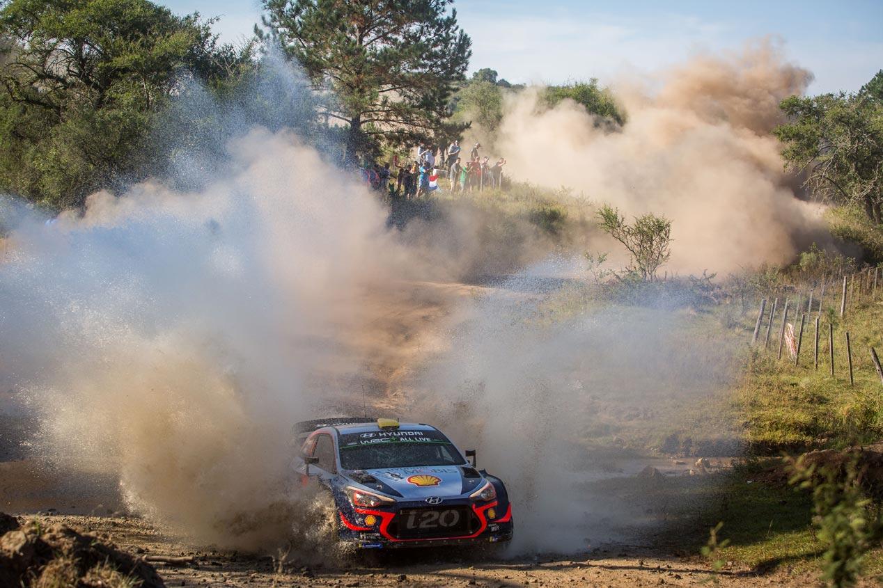 Las mejores fotos del Rally de Argentina 2018