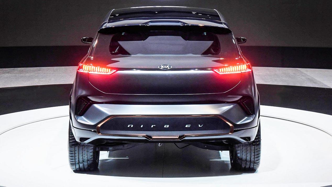 Kia Niro EV: primeras fotos oficiales del próximo SUV eléctrico