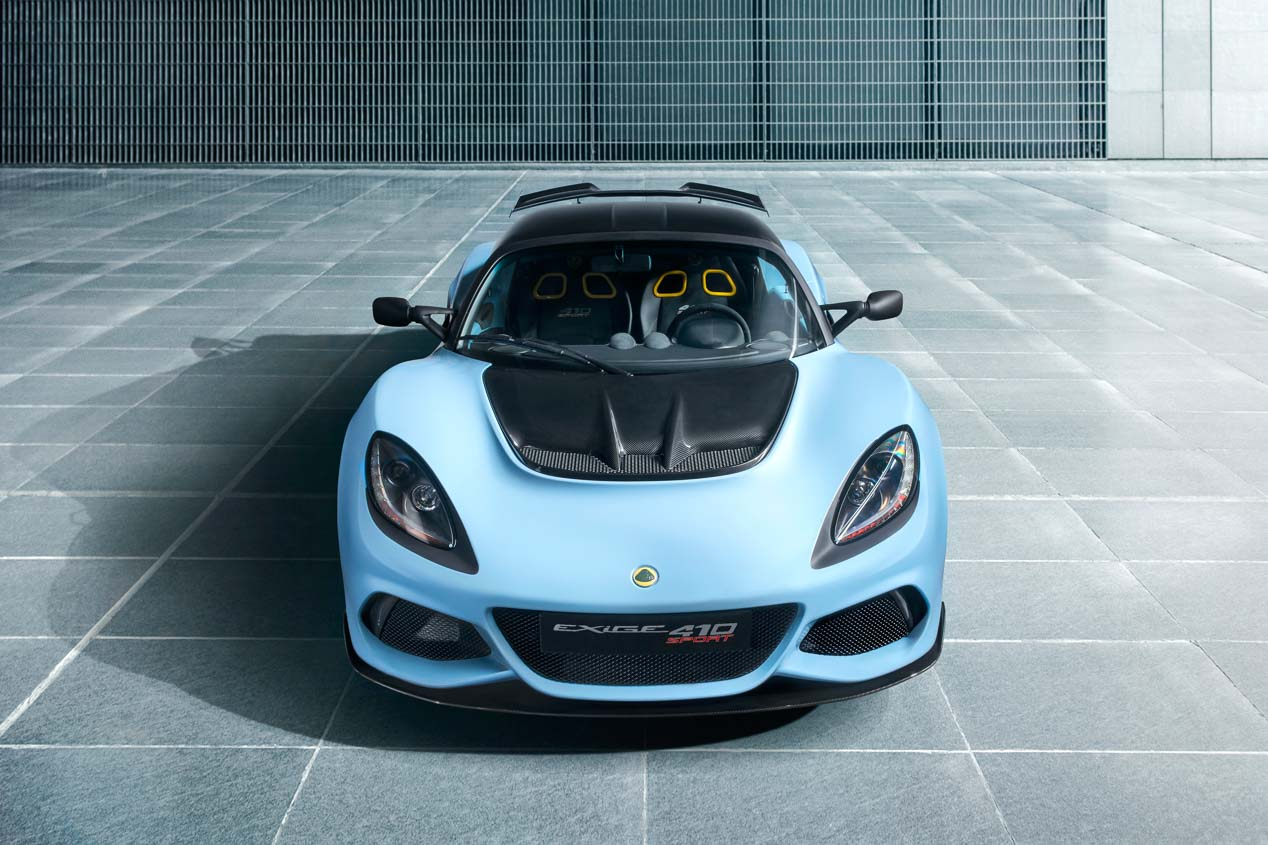 Lotus Exige Sport 410, un paso más en deportividad