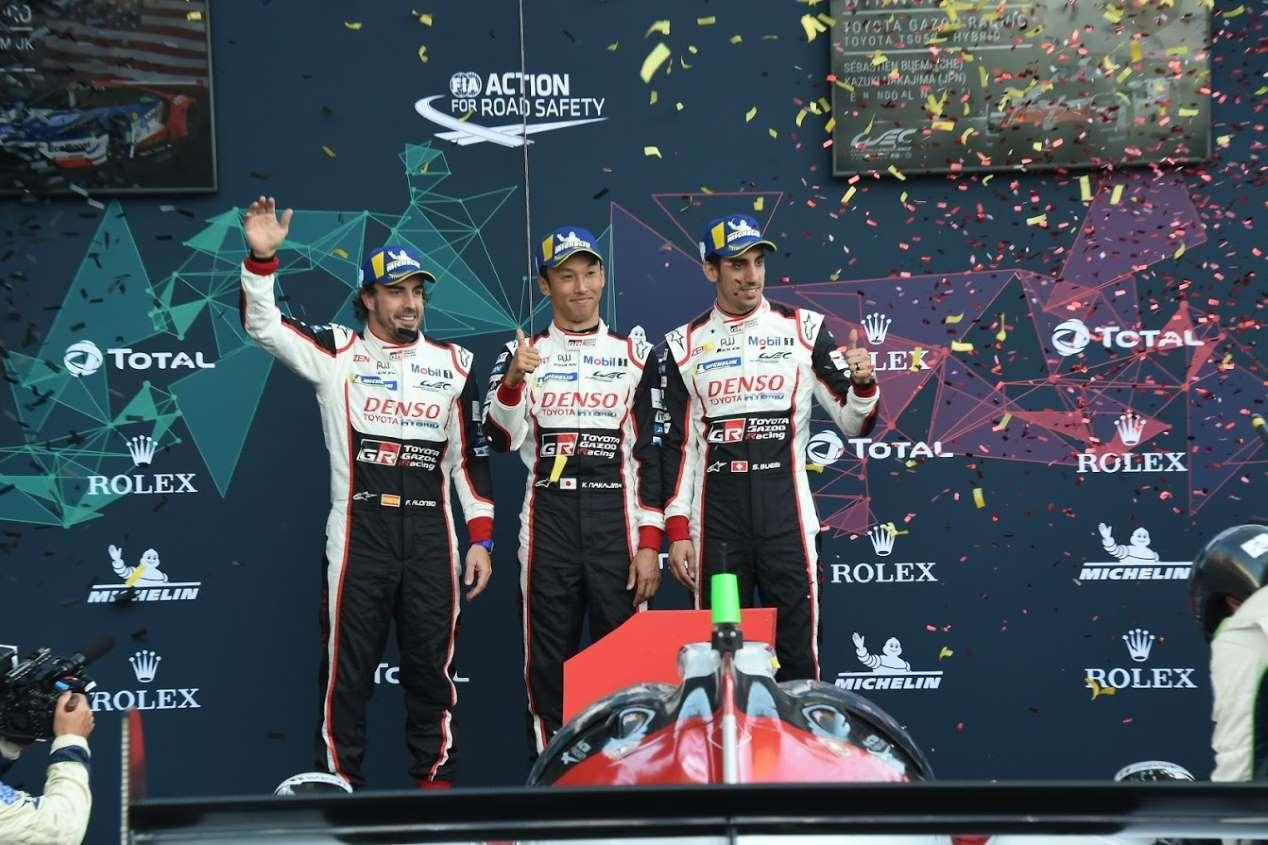 Fernando Alonso, ganador de las 6 Horas de Spa