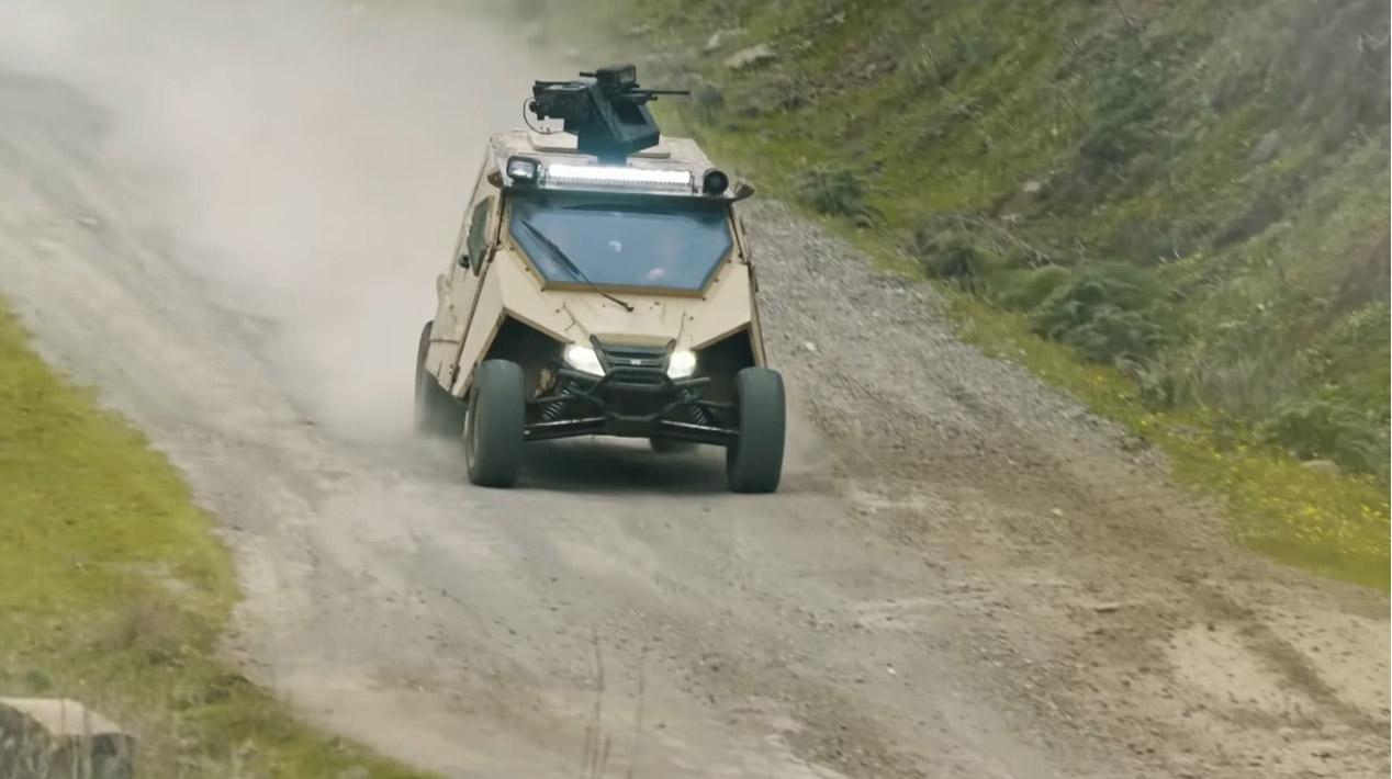 Plasan Yagu, el ATV definitivo para la guerra