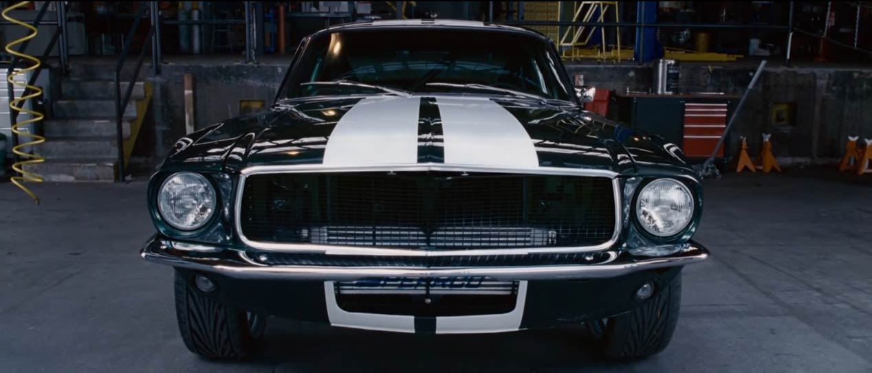 "El Ford Mustang, en ""Fast and Furious Tokyo Drift"" (2006)"