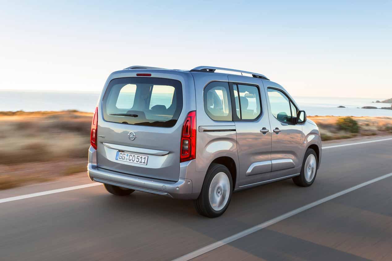 Opel Combo Life 2018, sus mejores imágenes