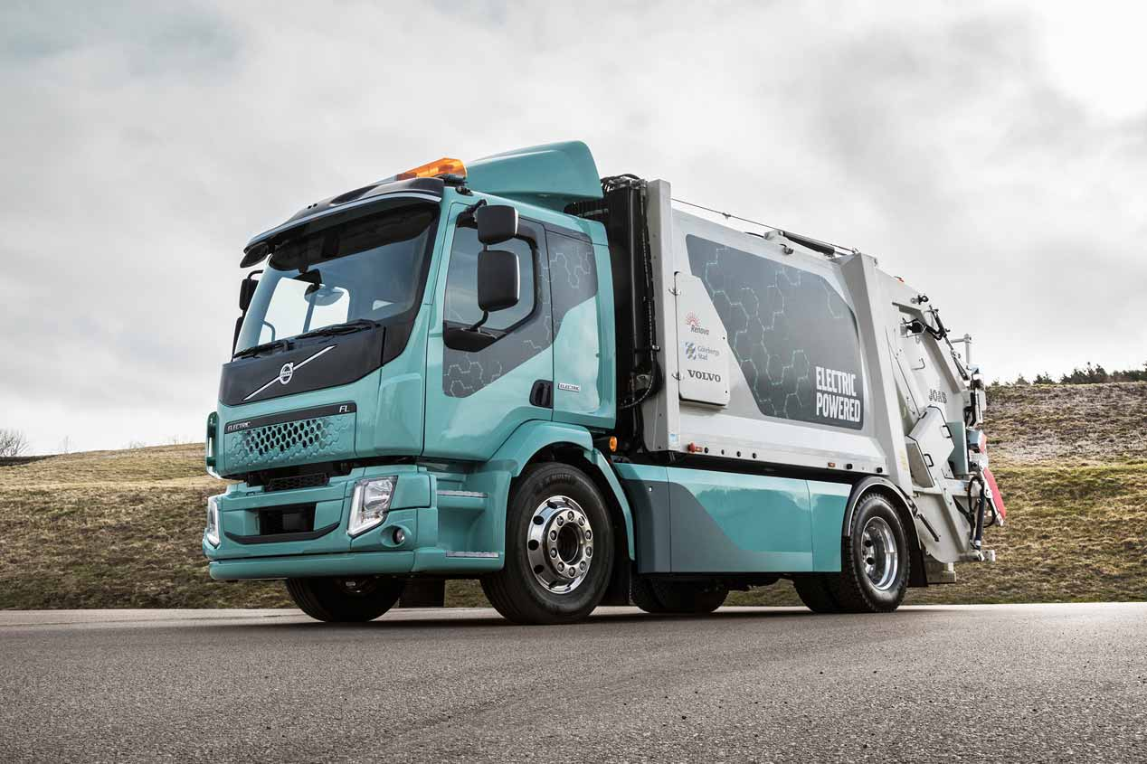 El camión eléctrico Volvo FL Electric, en imágenes