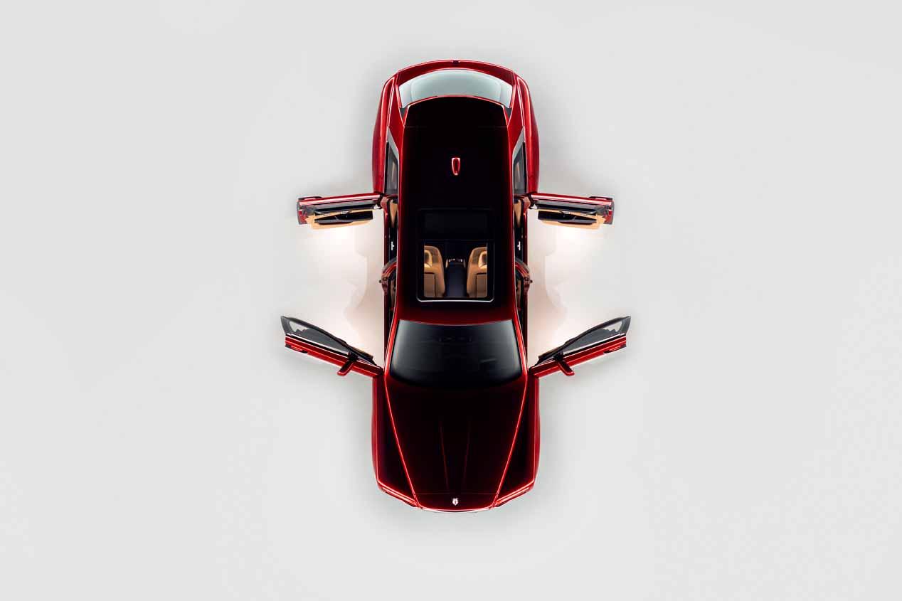 Rolls-Royce Cullinan: las imágenes oficiales del SUV más lujoso