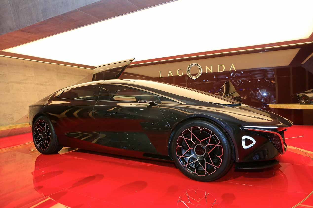 Lagonda y Aston Martin lanzarán un SUV eléctrico en 2021