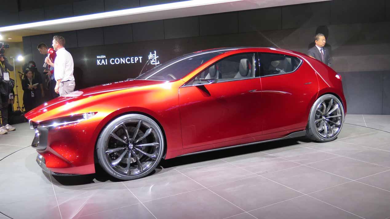 Así podría ser el Mazda3 2019, el compacto revolucionario