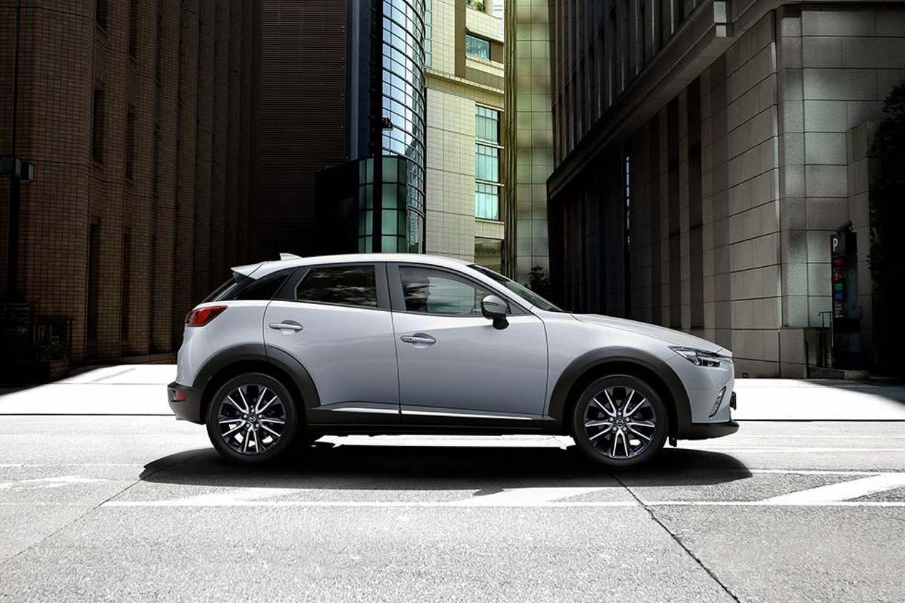 Mazda CX-3 2018: actualización del SUV urbano de Mazda a la vista